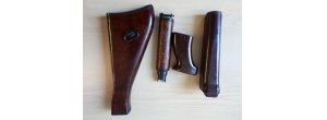 vz  58 vz58 surplus bakelite / beaver barf stock set